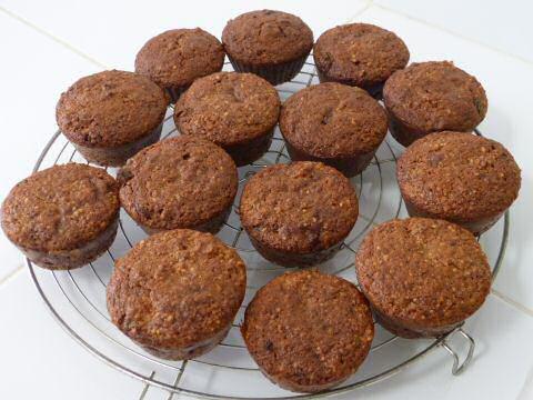 Paleo muffins recept