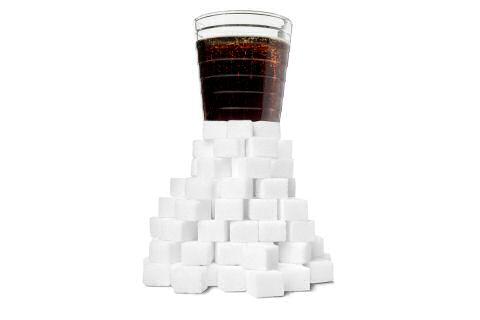 Toegevoegde suiker te hoog in frisdranken