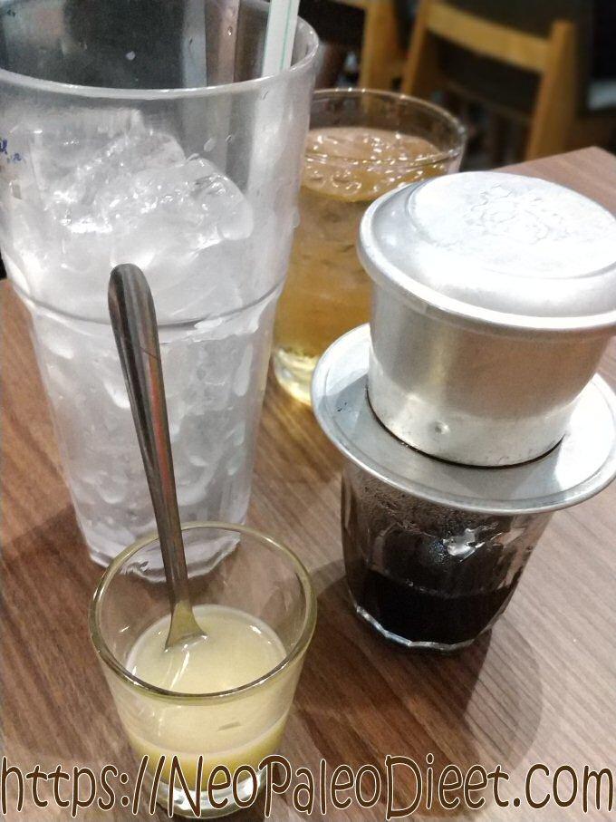 Vietnamese ijskoffie maken