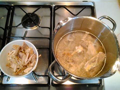 Zelf kippenbouillon maken