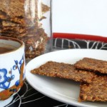 Lijnzaad crackers maken